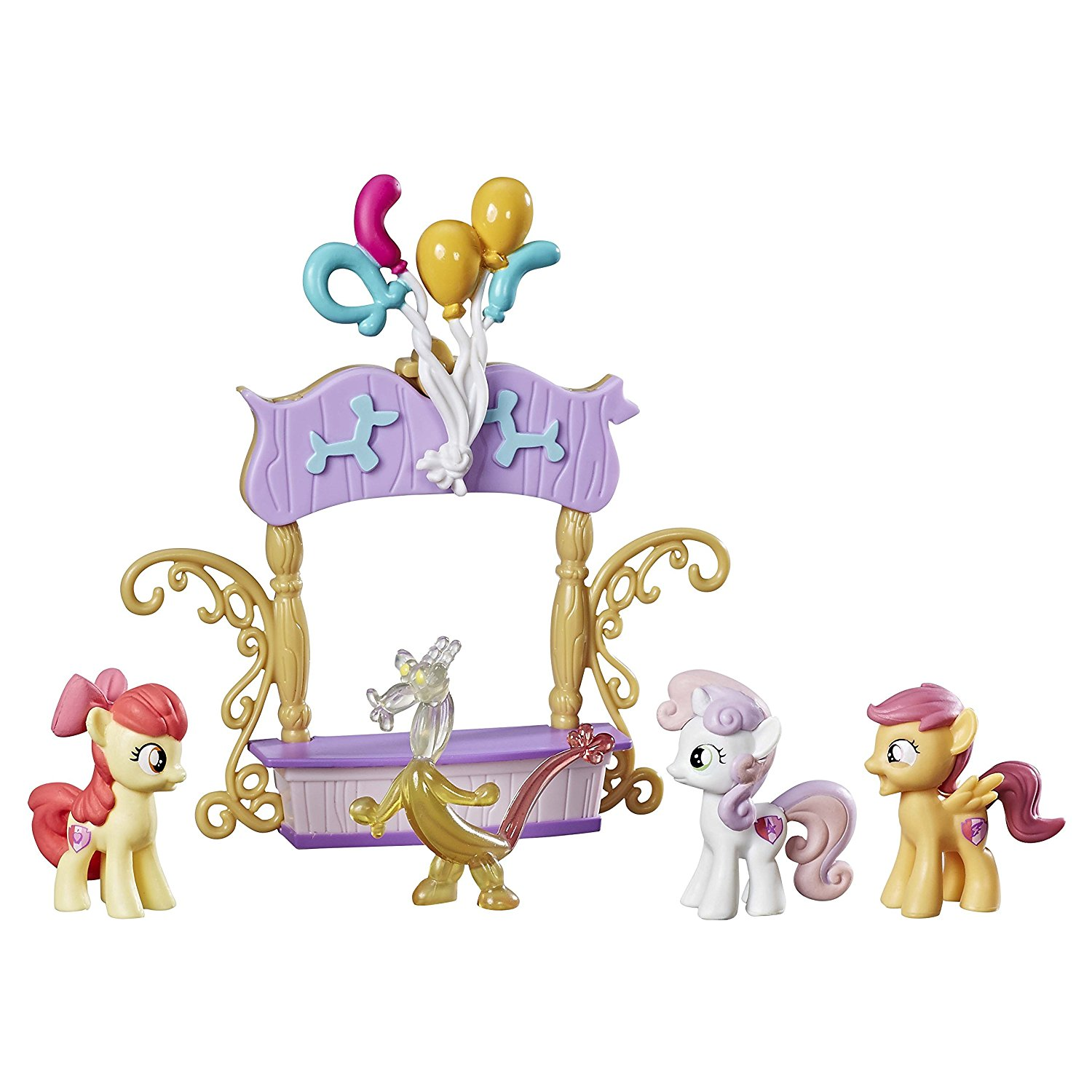 Cutie Mark Crusaders Balloon Booth Set, Inspired by the My Little Pony Friendship is Magic... by