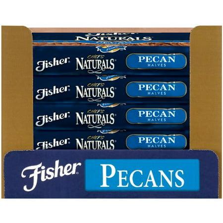 Fisher Pecans, Halves, Fancy, Medium, 5-Pound Packages