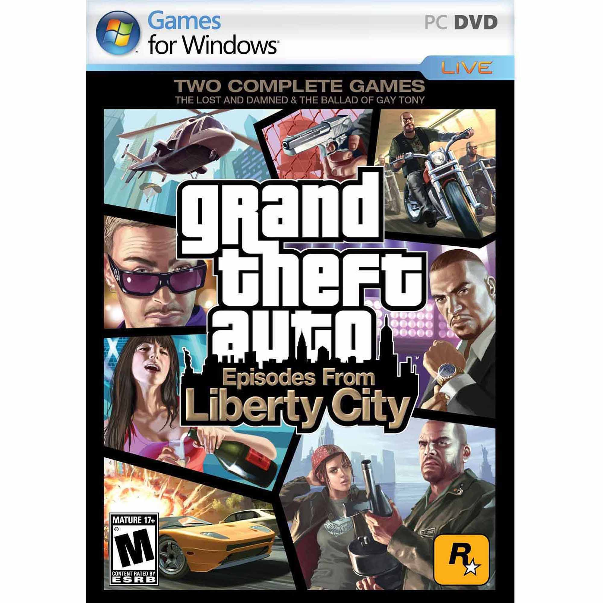 Grand Theft Auto: Episodes From Liberty City (PC) (Digital Code)