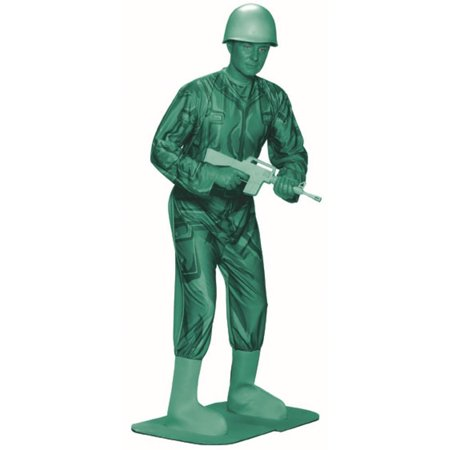 Adult Green Army Man Costume](Army Costume Mens)