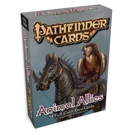 Pathfinder Face Cards: Animal Allies (Animal Faces)