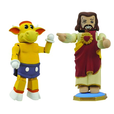 View Askew Minimates Mooby & Buddy Christ 2-Pack Action Figures
