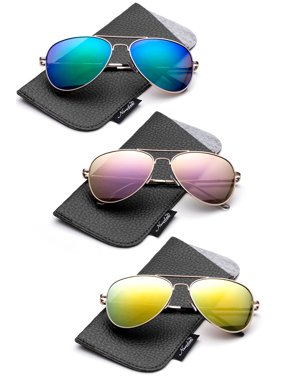 45bde4d8bfa05 Product Image Newbee Fashion -Polarized Kids Teens Juniors Avaitor  Polarized Sunglasses High Quality Duralble Staniless Steel Frame