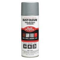 RUST-OLEUM 1614830 Industrial Choice  Spray Paint,Dull Aluminum,12 oz.