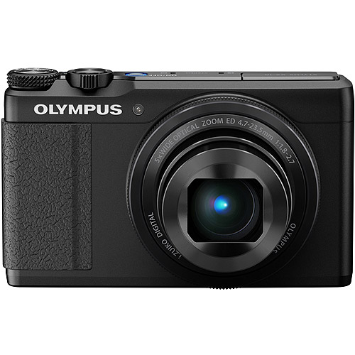 Olympus XZ-10 iHS Black Digital Camera (12 MP, 5x Opt, SD/SDHC/SDXC Card Slot)