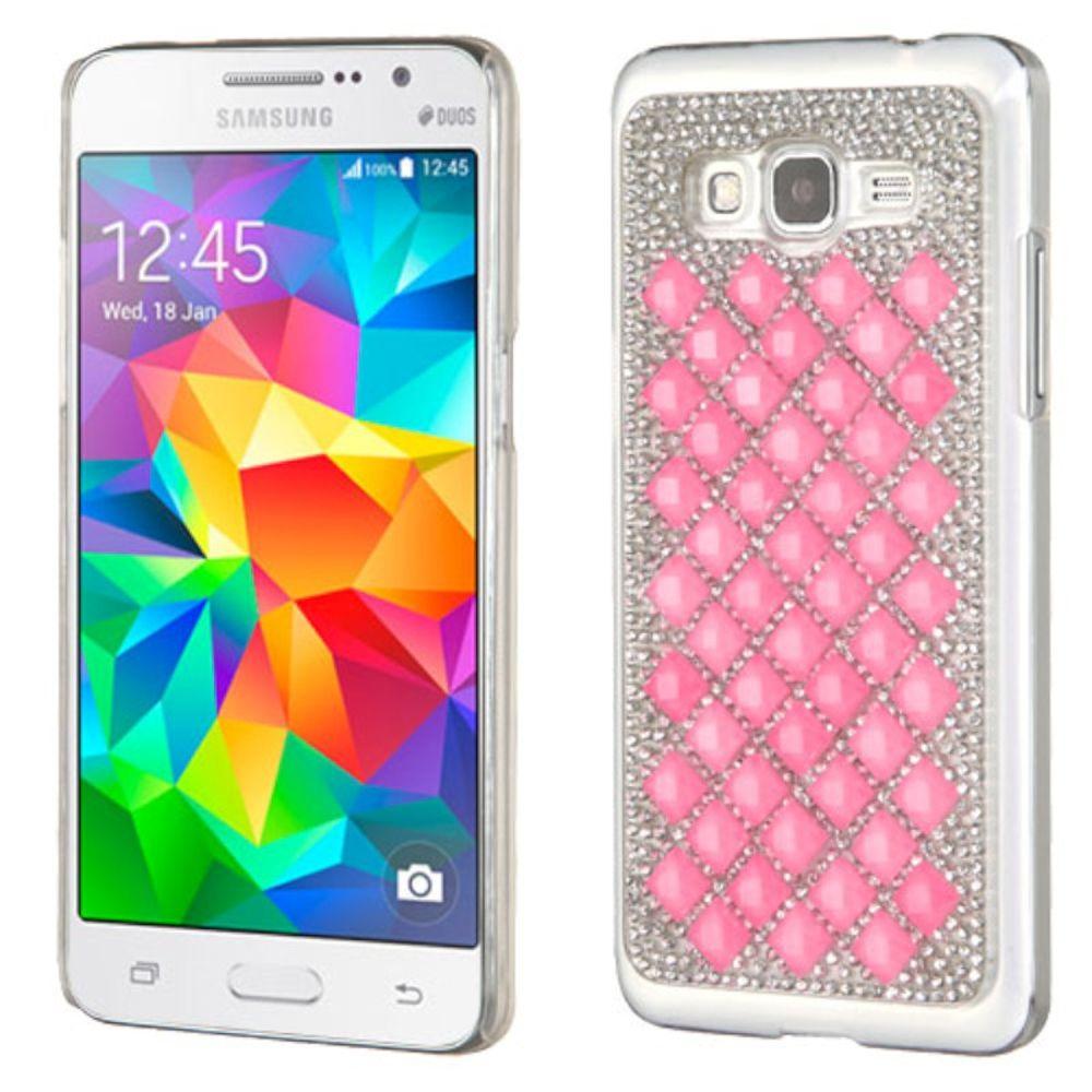 Samsung Galaxy Grand Prime Phone Case, by Insten Hard Rhinestone Case For Samsung Galaxy Grand Prime case cover - image 3 de 3