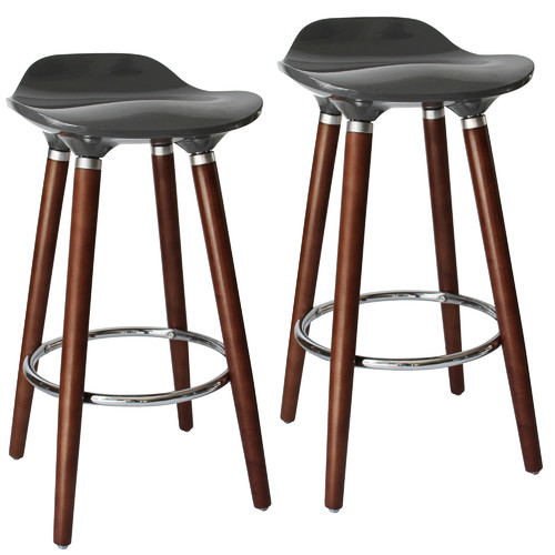 Nspire Trex Ii 26 In Low Back Counter Stool Set Of 2 Walmartcom