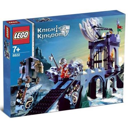 LEGO Knights Kingdom Gargoyle Bridge Set #8822 (Lego Knights Kingdom Santis)