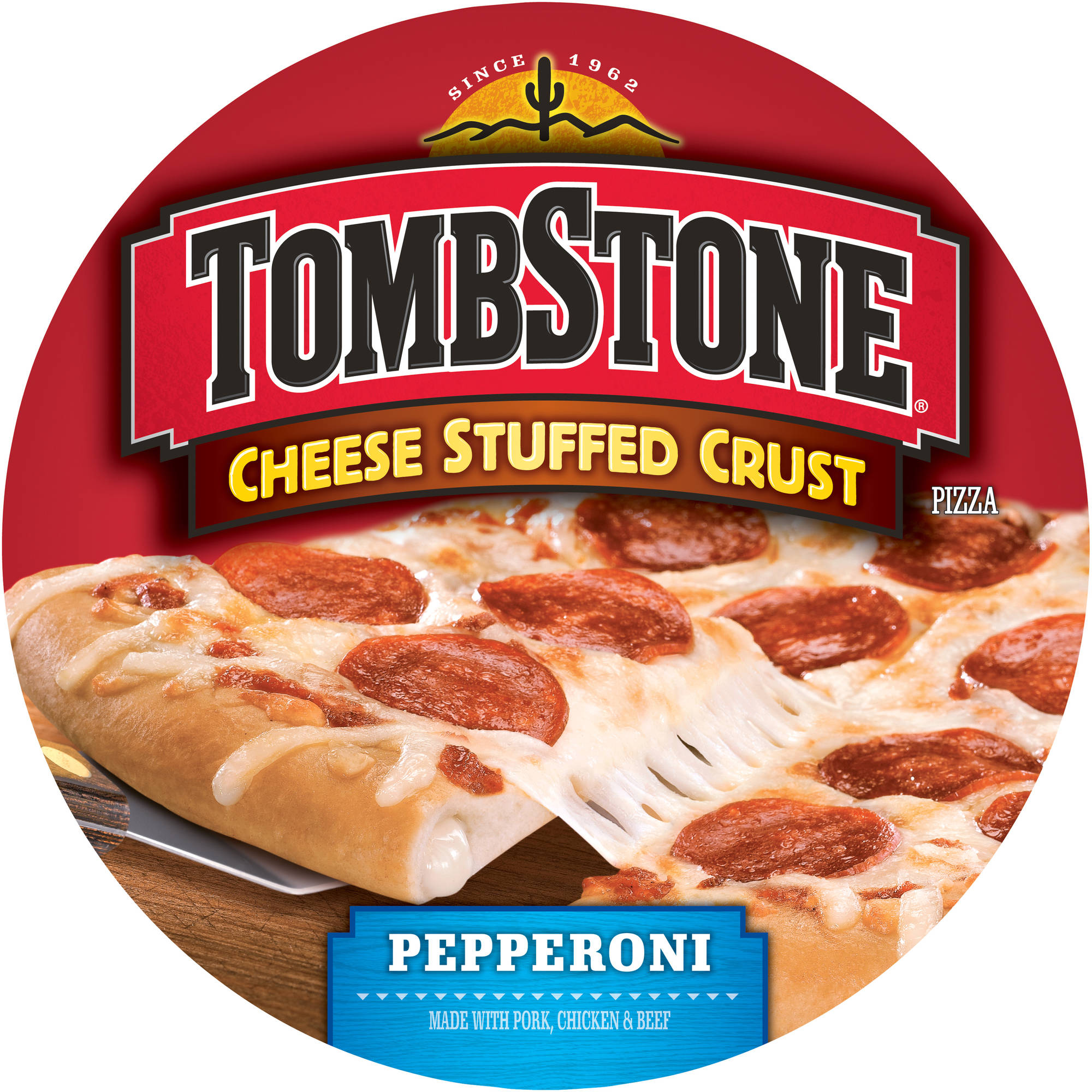 Tombstone Cheese Stuffed Crust Pepperoni Pizza, 27.34 oz
