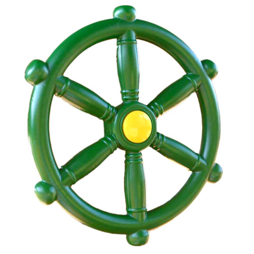 Ship's Wheel with Mounting Hardware