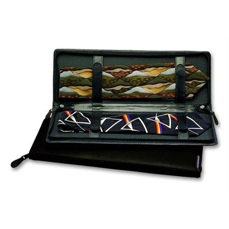 Leather Zippered Tie Case in (Leather Zippered Tie Case)