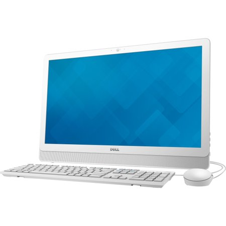 "Dell Inspiron 24 3000 24-3455 All-in-One Computer - AMD A-Series A6-7310 2 GHz - 4 GB DDR3L SDRAM - 500 GB HDD - 23.8"" 1920 x 1080 - Windows 10 Home 64-bit - Desktop - White, Silver (i3455-3240wht)"