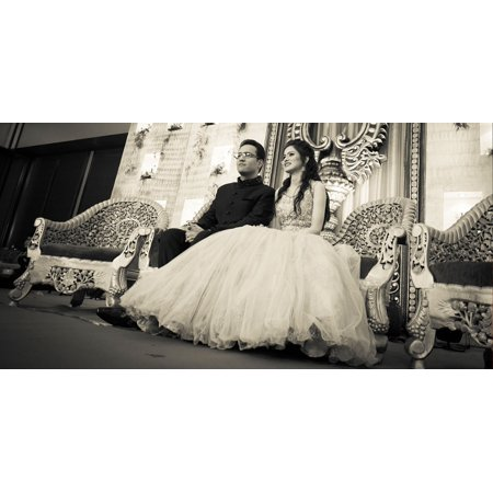 LAMINATED POSTER Couple Romantic Woman Costume Princess Wedding Poster Print 24 x 36 (Princess And Prince Couple Costumes)