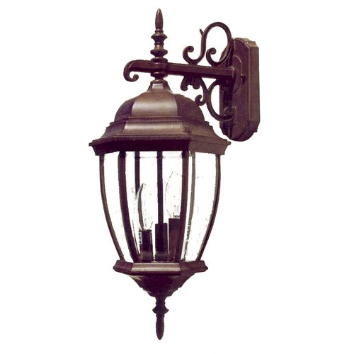 Astoria Grand Drumkeeran 3-Light Outdoor Wall Lantern