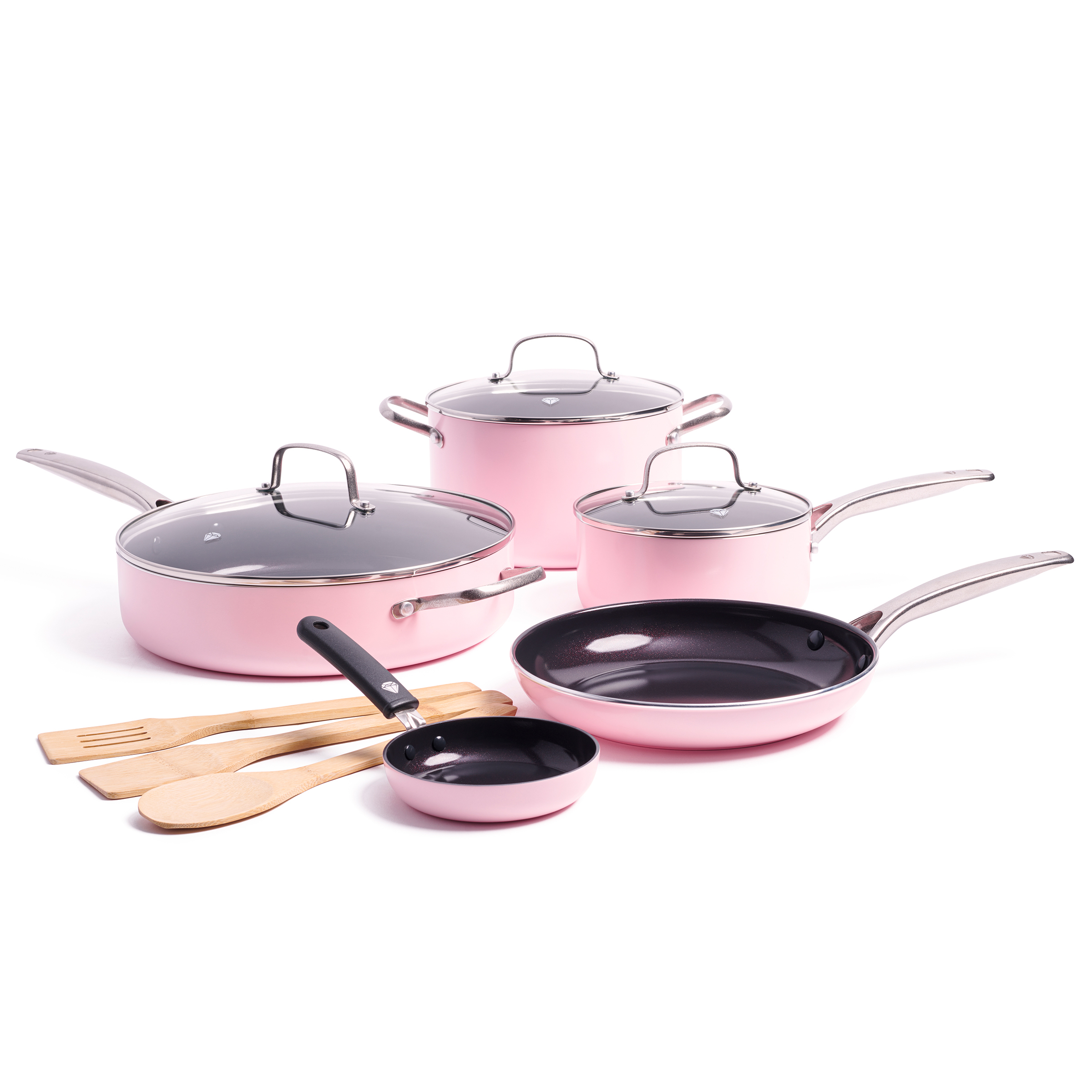 Nonstick 11-Piece Cookware FREE SHIPPING BLUE LIMITED EDITION Blue Diamond