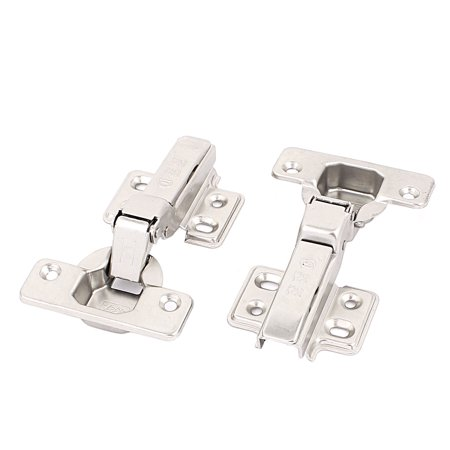 Uxcell Kitchen Door Cabinet Self Closing Half Overlay Concealed Hinges Hardware 2 (Concealed Mounting Hardware)