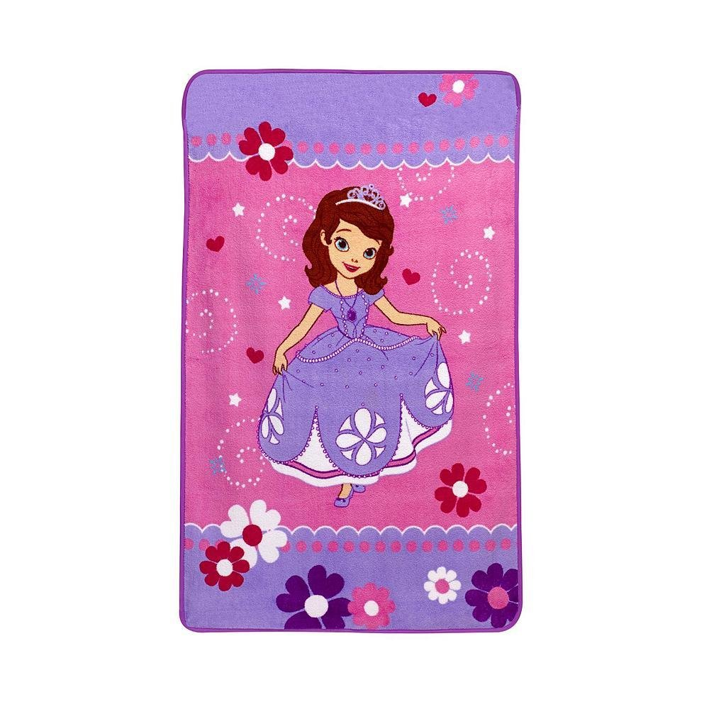 Sofia the First Toddler Plush Fleece Blanket