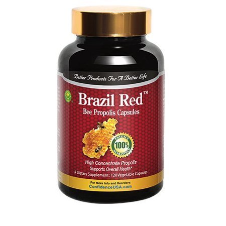 Brazil Red Bee High Concentrate Propolis (120 Capsules) (Propolis Concentrate)
