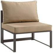 Modway Fortuna Armless Outdoor Patio Sofa, Multiple Colors