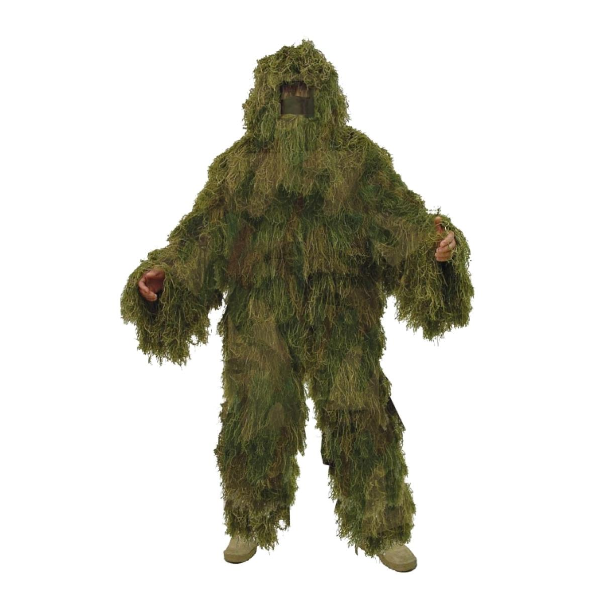 "New 4 Piece ""Fat Boy"" Woodland Camo Sniper Ghillie Suit"