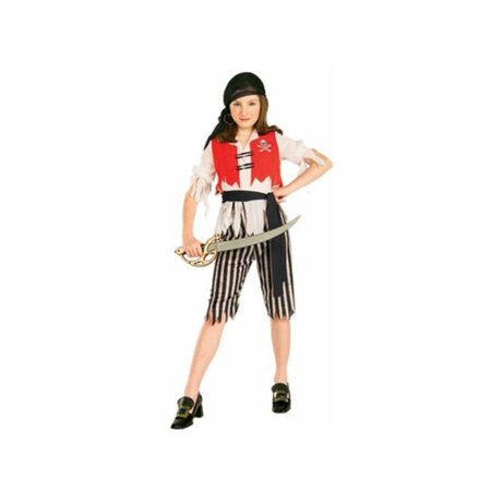 Child's Pirate Wench Costume - Pirate And Wench