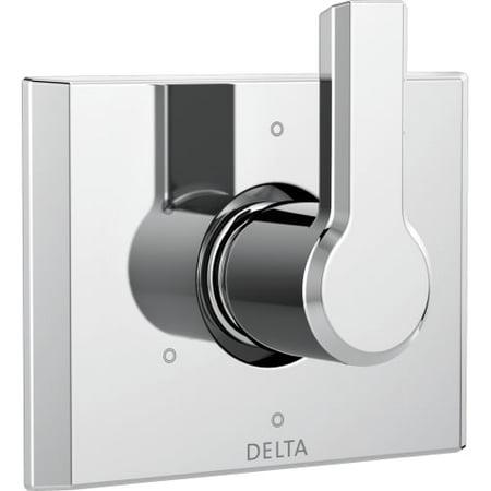 Delta Pivotal 6-Setting 3-Port Diverter Trim, Chrome