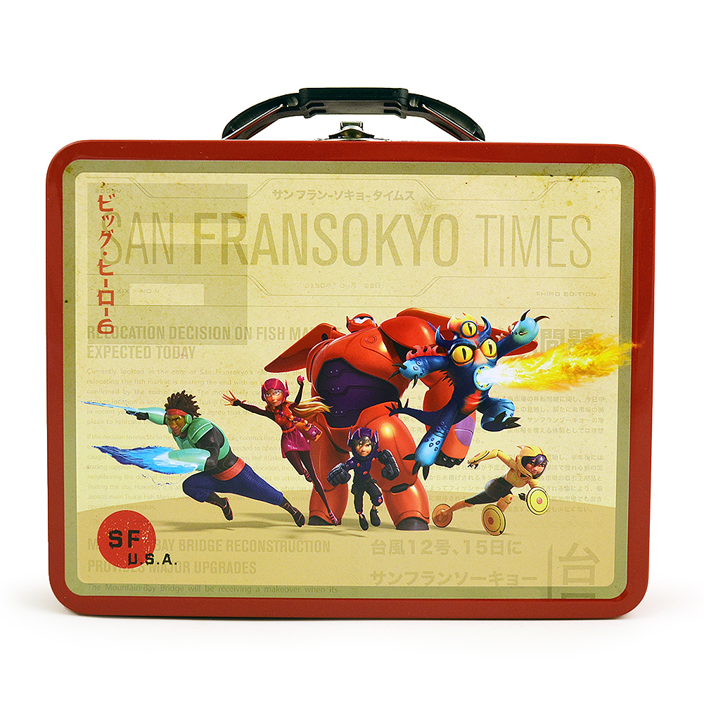 Big Hero 6 Tin Box