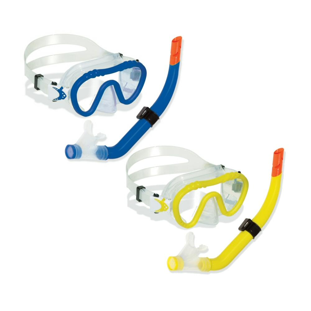 Swimline DiveSite Reef Seeker Silicone Kid's Youth Mask and Snorkel Set by