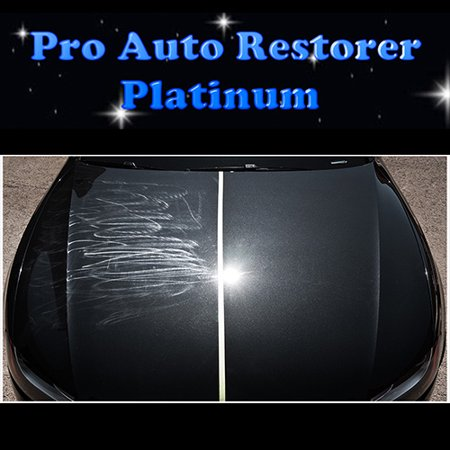 Pro Auto Restorer Platinum Car Scratch and Paint Swirl Remover - Buffing Pad