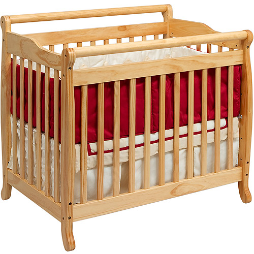 Baby Mod Lily 2-in-1 Convertible Crib Natural