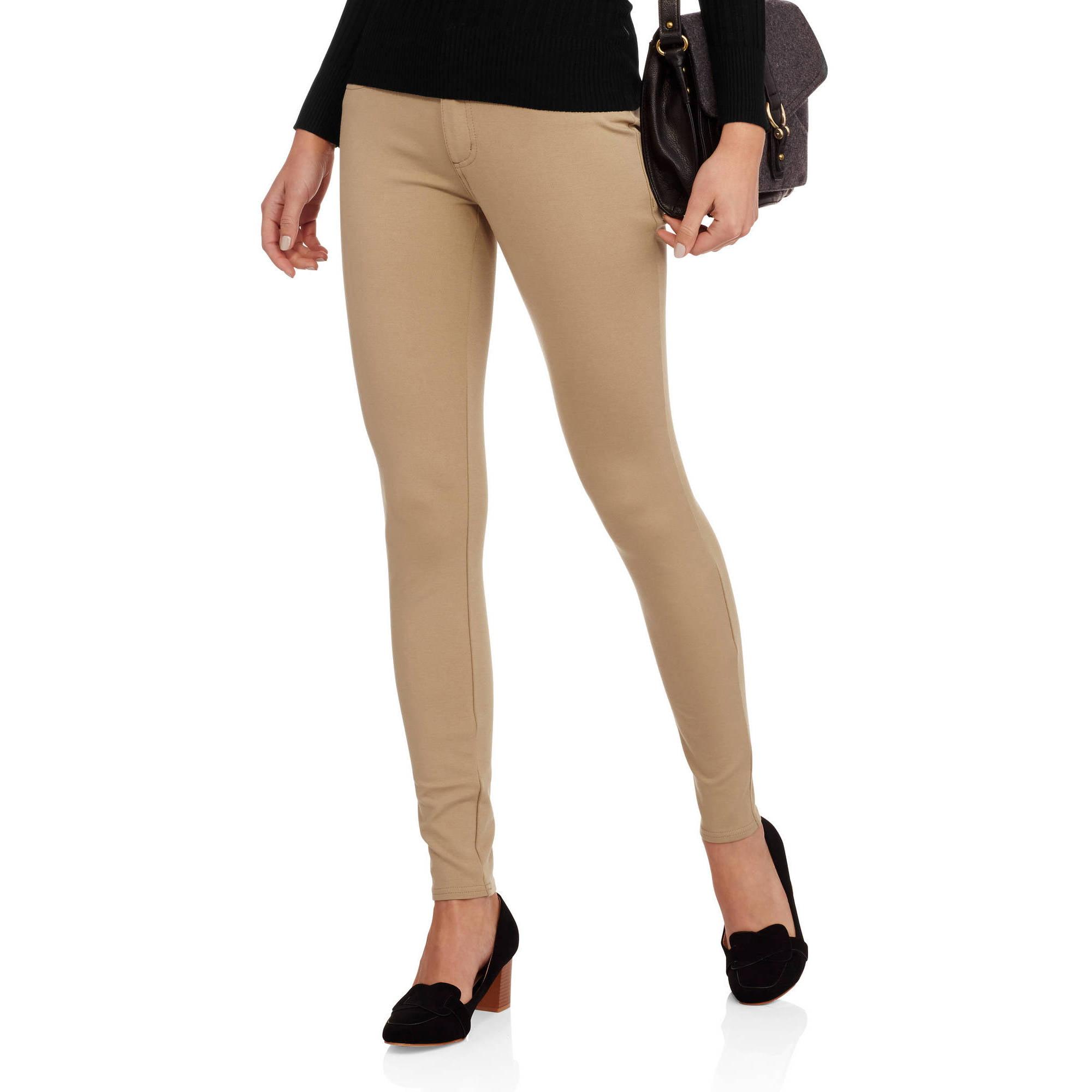 Faded Glory  Women's Skinny Ponte Pant
