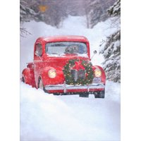 Avanti Press Dogs in Truck Box of 10 Christmas Cards