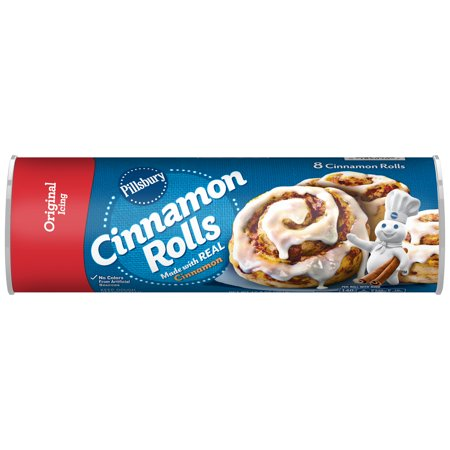 Pillsbury Cinnamon Rolls With Icing, 8 Ct, 12.4 oz