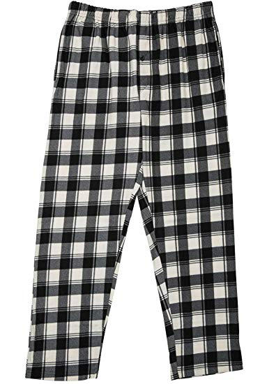 North 15 Boy's Plaid Plush Fleece Pajama Pants-1205B-Design3-8
