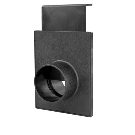 70133 2-1/2-Inch Blast Gate for Vacuum/Dust Collector, Maximizes the efficiency of dust collection system by directing the air flow from one machine.., By POWERTEC From - Blast Gate