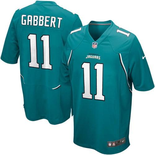Nike Blaine Gabbert Jacksonville Jaguars Historic Logo Youth Game Jersey - Teal