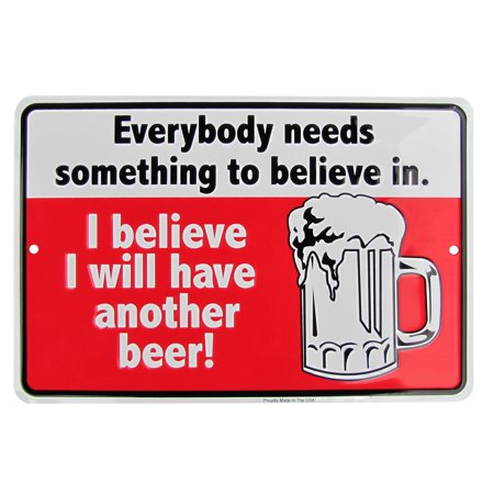 Have Another Beer Funny Metal Sign US Made Novelty Man Cave Bar Pub Wall Decor - Man Cave Pub Sign