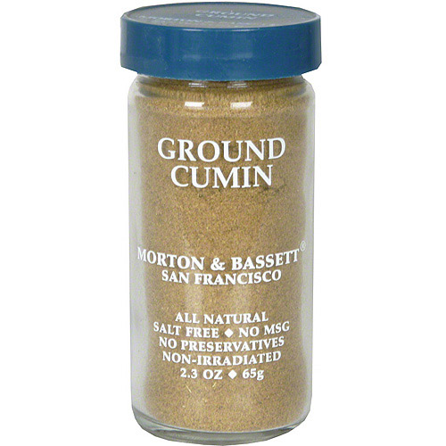 Morton & Bassett Spices Ground Cumin, 2.3 oz (Pack of 3)