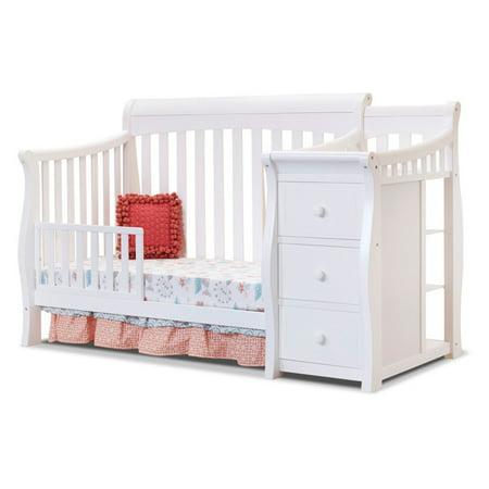 Sorelle Tuscany or Princeton Elite Toddler Bed Rails Gray Bottom Rail
