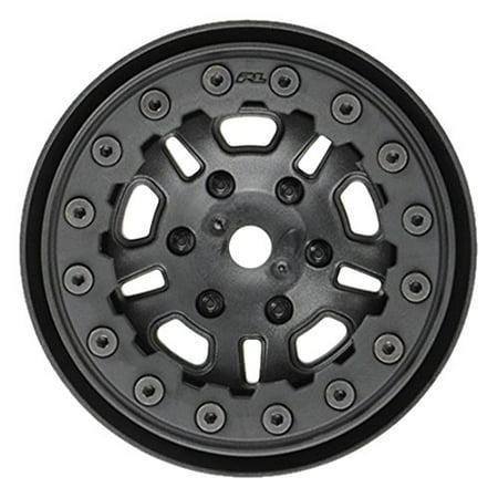 PROLINE 274815 Fault line 1.9 Black/Black Bead Loc 10 Spoke Front Or Rear Wheels - image 1 of 1