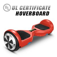 Hoverboard Two-wheel Self-balancing Scooter-UL2272 Certified 6.5'' -Dual Motor- Red