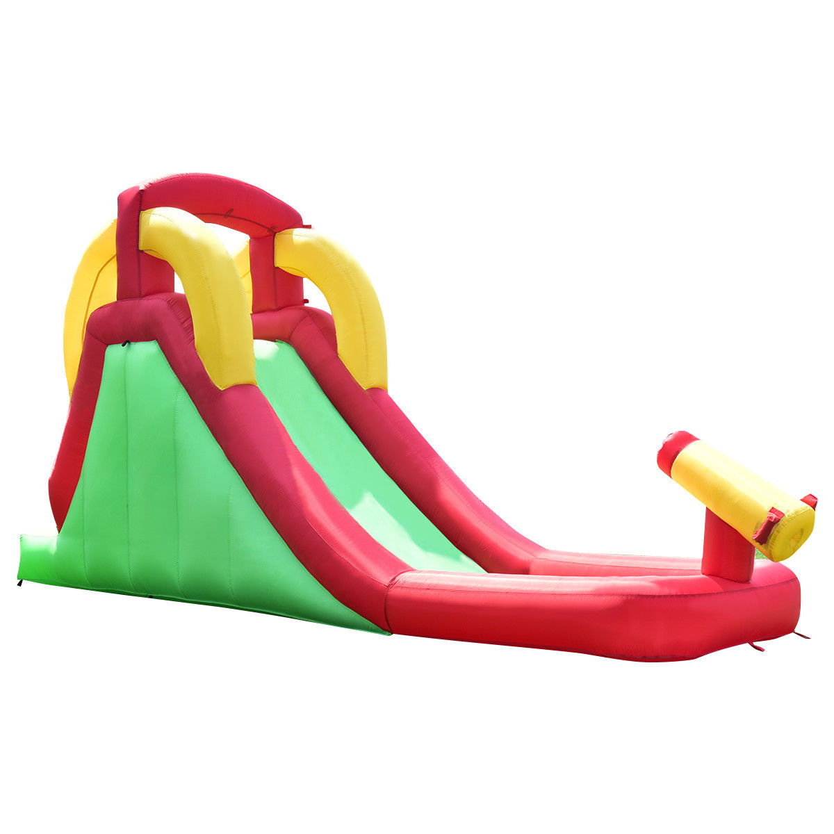 Click here to buy Costway Inflatable Moonwalk Waterslide Bounce House Bouncer Kids Jumper Climbing by Costway.