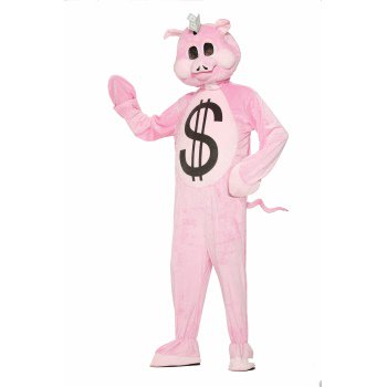 CO - MASCOT - PIGGY BANK](Bank Robber Costumes)