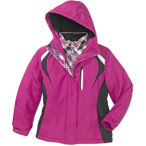 Faded Glory - Girls' 4-in-1 System Jacket