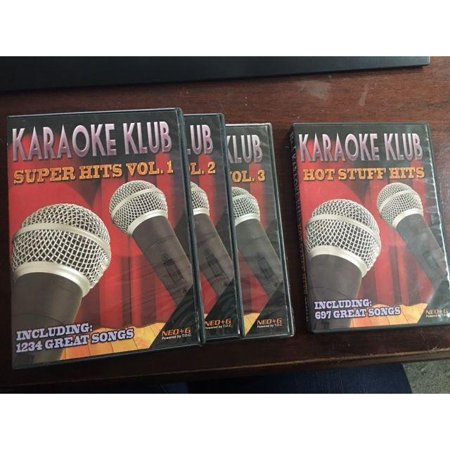 KARAOKE KLUB SUPER PACK GUIDE VOCALS & FREE FLASHDRIVE INCLUDED NEO+G CDG