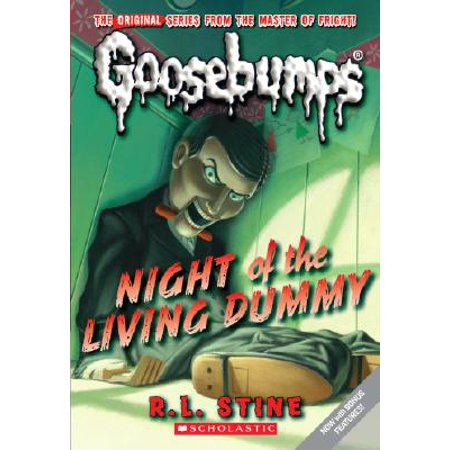 Night of the Living Dummy (Classic Goosebumps #1) (Paperback)