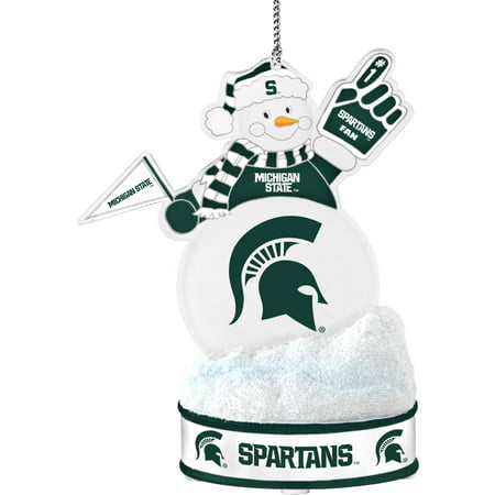 Topperscot by Boelter Brands NCAA LED Snowman Ornament, Michigan State Spartans