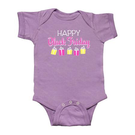 Happy Black Friday Gift Shopping Infant Creeper