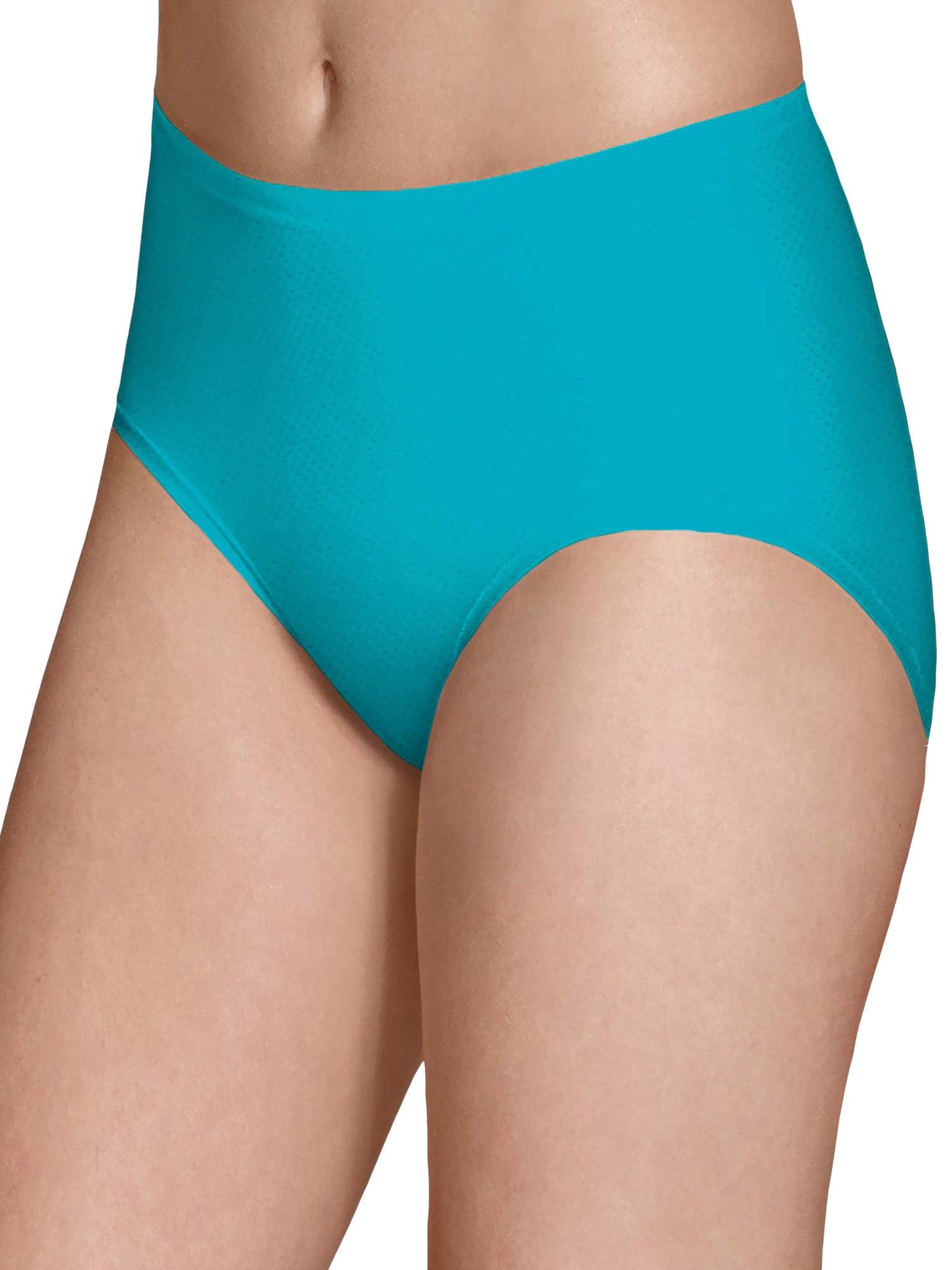 Comfy Full Coverage Underwear Womens Goldfish and Waves Bikini Briefs