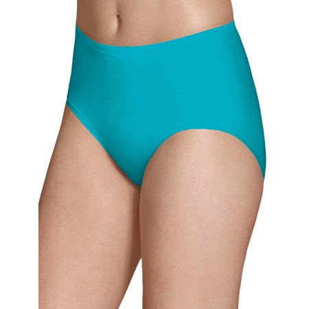 Fruit of the Loom Women's Breathable Micro-Mesh Low Rise Briefs, 6
